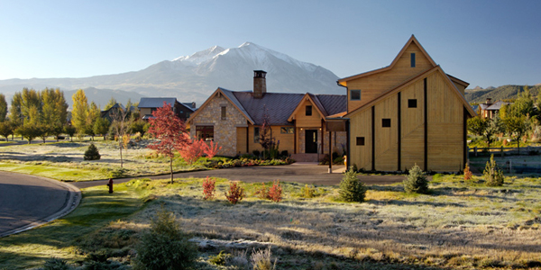 Smith Studio B Architecture 2 Beautiful residence in Colorado featuring vernacular architecture