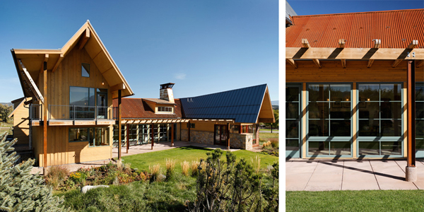 Smith Studio B Architecture 4 Beautiful residence in Colorado featuring vernacular architecture