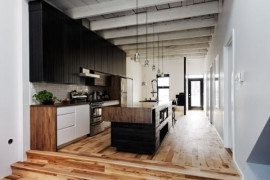 Superb renovation of a small bungalow: St-Hubert Residence