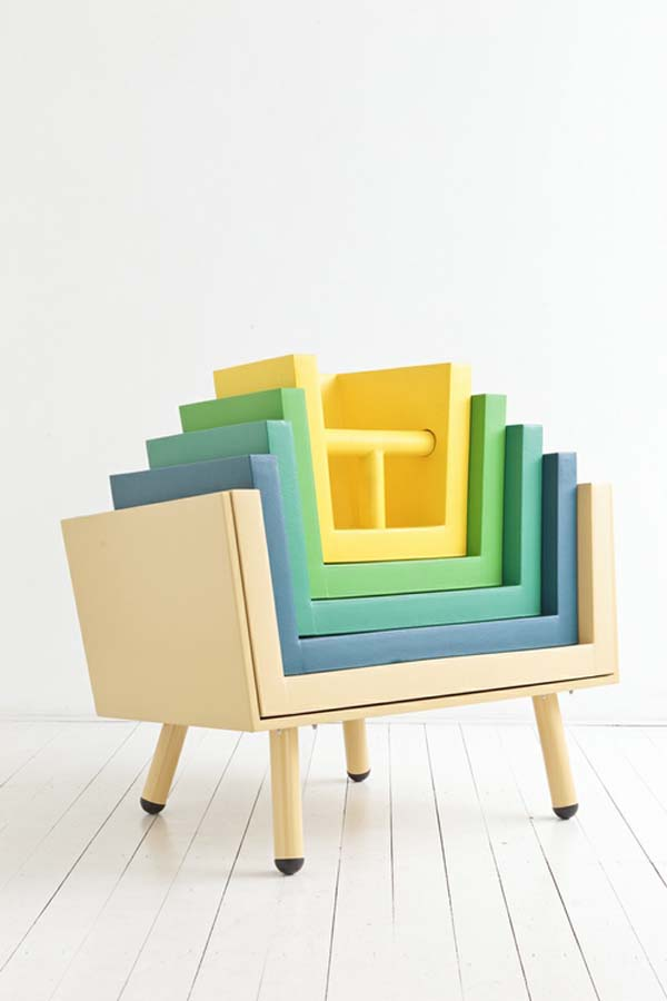 Stacking Throne 2 Childhood dream prepared to guide a seating experience: The Stacking Throne