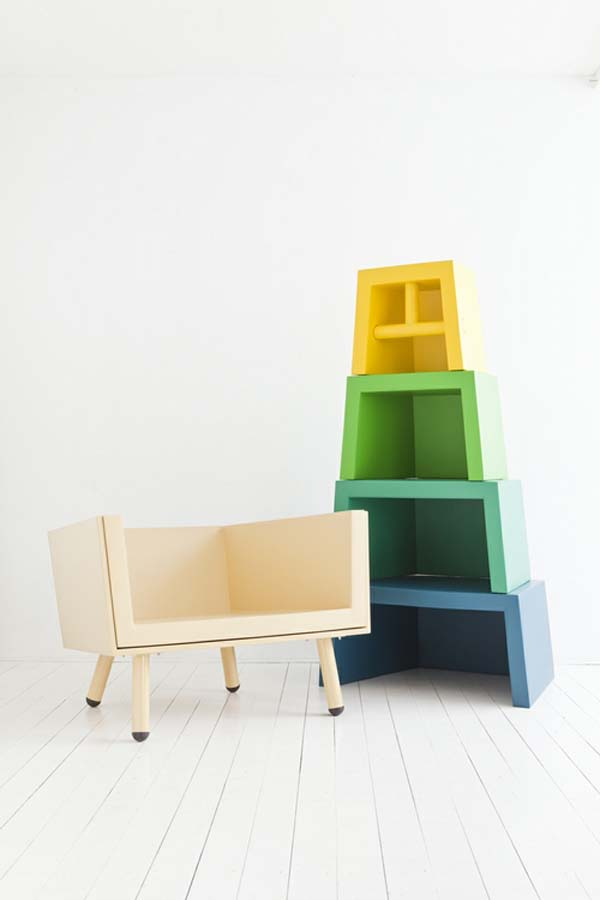 Stacking Throne 3 Childhood dream prepared to guide a seating experience: The Stacking Throne