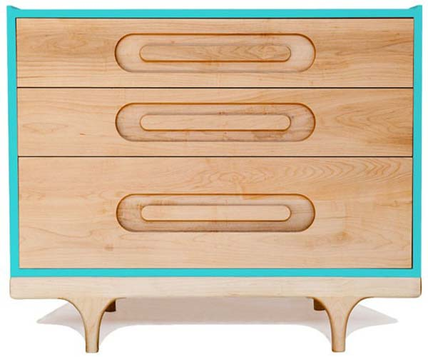 The Caravan Dresser 2 Fun, colourful dresser for your home: The Caravan Dresser by Kalon Studios