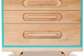 Fun, colourful dresser for your home: The Caravan Dresser by Kalon Studios