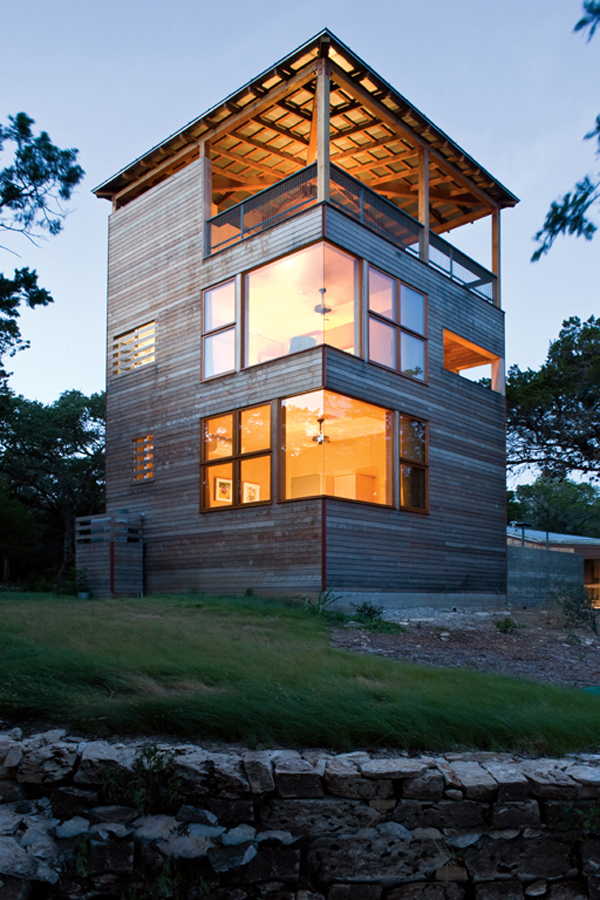 Modern residential addition: Tower House by Andersson Wise ...