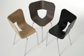 Inspirational Tria Chair from Lorenz-Kaz invites you to have a seat