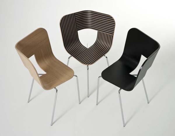 Tria Chair 7 Inspirational Tria Chair from Lorenz Kaz invites you to have a seat