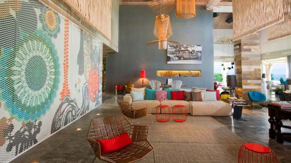 W hotel Vieques Island Exceptional bright and colourful W Hotel in Puerto Rico