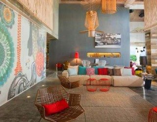 Exceptional bright and colourful W Hotel in Puerto Rico