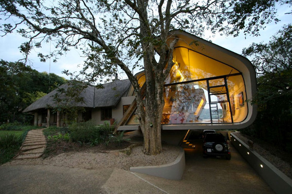 Wright House  Tradition meets modern architecture in South Africa: Wright House