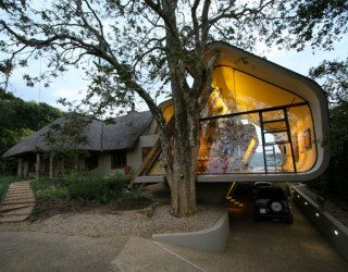 Tradition meets modern architecture in South Africa: Wright House