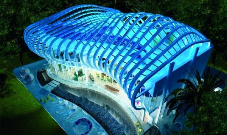 Futuristic luxury villa in Cyprus: Aura by Mobius Design Group