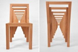 Playful and creative chair design: The Inception Chair