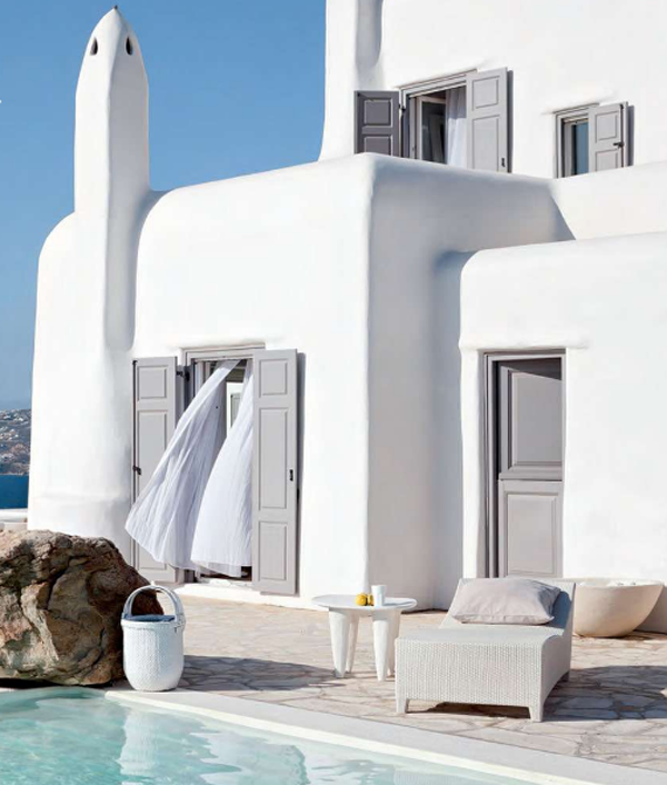 mykonos kanalia hill house  Mykonos dream house in pure white: Kanalia Hill House