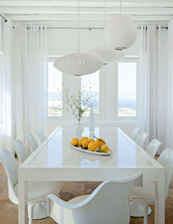 Mykonos Dream House In Pure White Kanalia Hill House