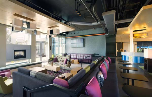 Aloft by Rockwell Group 2 Chic atmosphere at the Aloft Hotels by Rockwell Group