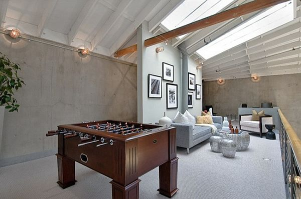 Basketball Court Living Room 10