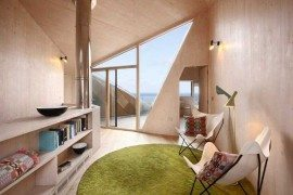 Abstract Vacation Home by JVA and Mole Architects: Dune House!