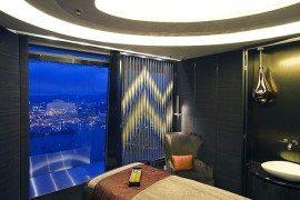 ESPA Ritz-Carlton Hong Kong by Hirsch Bedner Associates, Highest Spa in The World