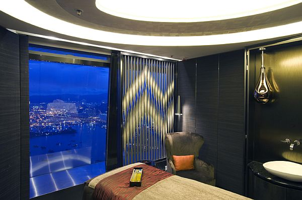 ESPA Ritz Carlton Hong Kong Spa ESPA Ritz Carlton Hong Kong by Hirsch Bedner Associates, Highest Spa in The World