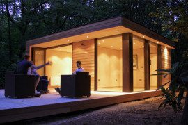 Fun garden room studio for your yard from in.it.studios