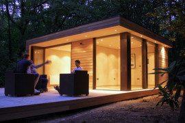 Fun garden room studio for your yard from in.it.studios