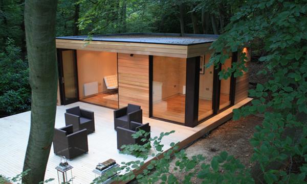 Fun garden room studio for your yard from for Outdoor studio rooms