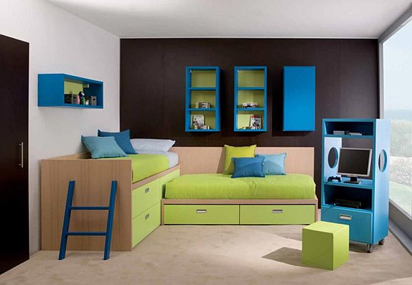 Kids bedroom paint ideas 10 ways to redecorate for Cool kids bedroom designs