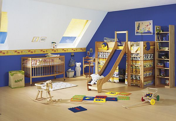 Whether you choose a modern interior design for your kids bedroom ...