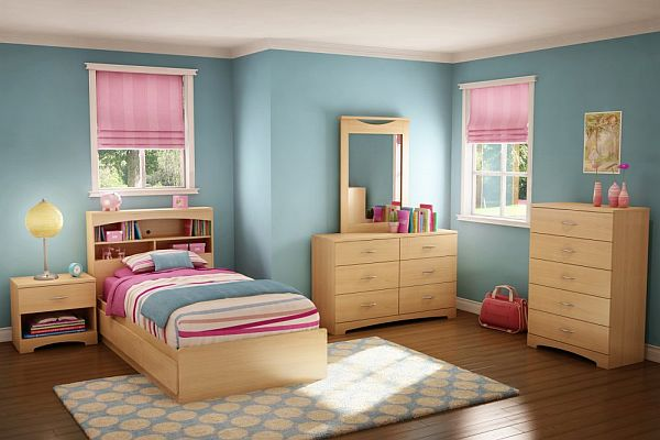Kids bedroom paint ideas 10 ways to redecorate - Toddler bedroom ideas for small rooms ...