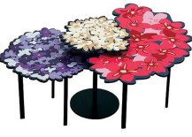 Feminine and fascinating table design: Lomi & Lou Blossoming Tables