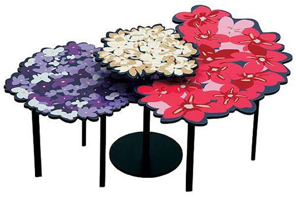Lomi Lou Blossoming Tables Feminine and fascinating table design: Lomi & Lou Blossoming Tables