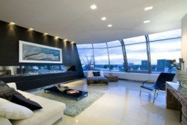 Bold Penthouse by Studio RHE in London (Notting Hill)