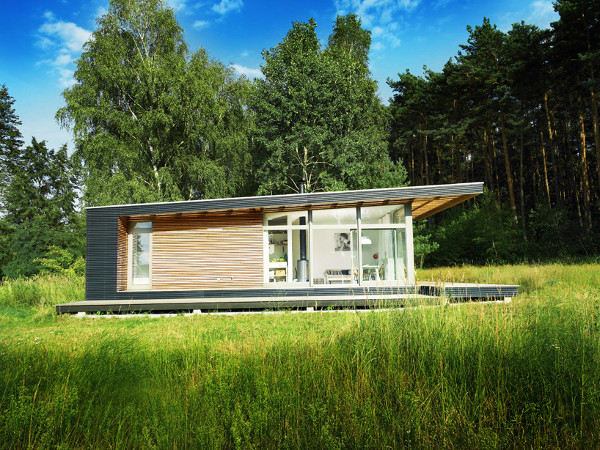 Sommerhaus Piu Prefab Vacation Home 2 Small prefab dream vacation home: Sommerhaus Piu Prefab