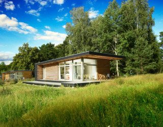Small prefab dream vacation home: Sommerhaus Piu Prefab