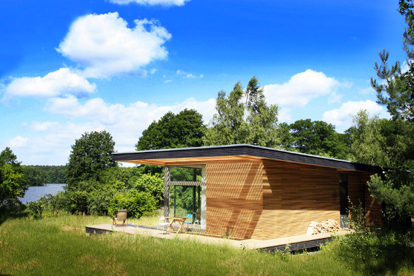 Small Prefab Dream Vacation Home Sommerhaus Piu Prefab