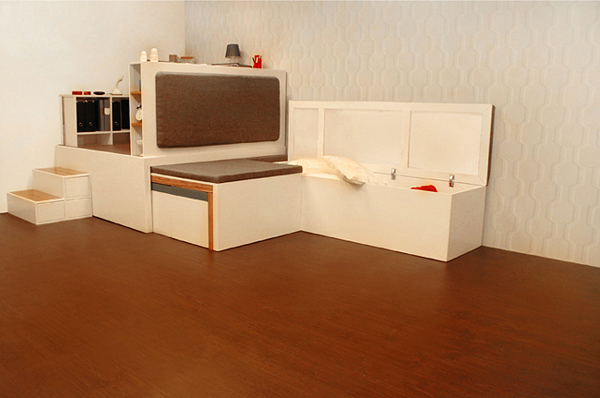 Compact All In One Furniture Set For Urban Spaces