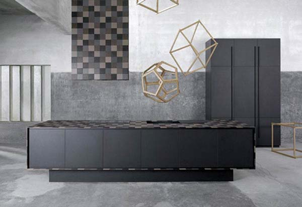 paperstone kitchen Modern recycled paper kitchen furniture: Paperstone Kitchen