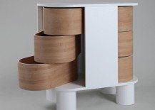 Contemporary dresser design that slides open: Peekaboo Dresser