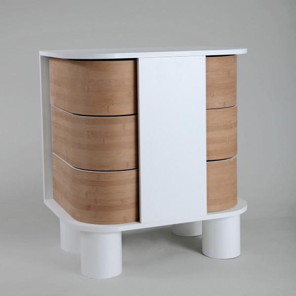 peekaboo dresser 2 Contemporary dresser design that slides open: Peekaboo Dresser