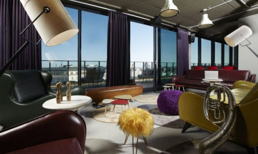 25 Hours Hotel in Vienna – a mix of beautiful styles and colours