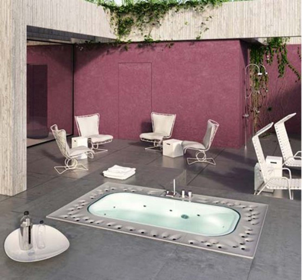 Arima by Glass 2 Fabulous Spa for your home: Arima designed by Glass