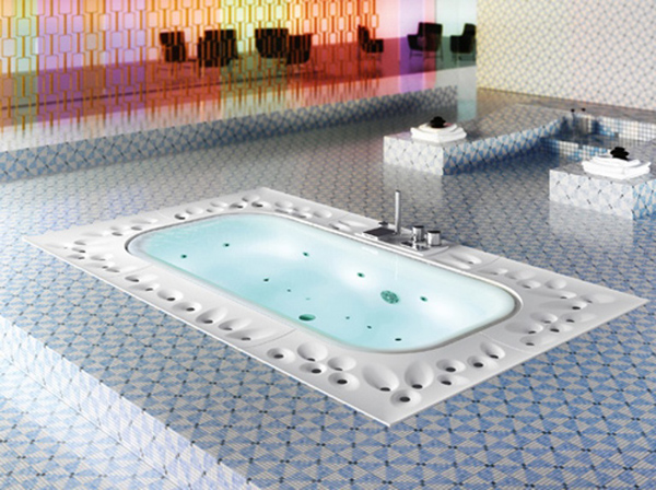 Arima by Glass Fabulous Spa for your home: Arima designed by Glass