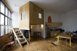 Cabin Loft in Brooklyn – an unusual urban visiting experience in New York