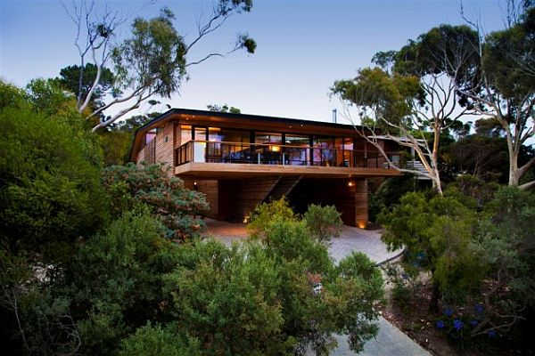 Citriodora House by Seeley Architects 1 Wooden Cottage on the Coast: Citriodora House by Seeley Architects