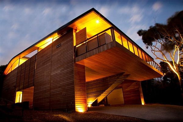 Citriodora House by Seeley Architects 2 Wooden Cottage on the Coast: Citriodora House by Seeley Architects