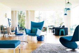 Comfy Organic Lounge Chair by Verner Panton