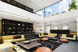 Three Storey Contemporary Penthouse in SOHO, NYC