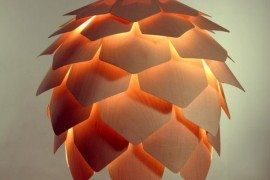 Crimean Pinecone Lamp by Pavel Eekra