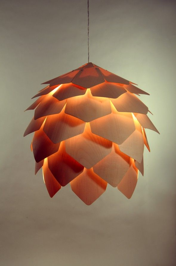 Crimean pinecone lamp 1 Crimean Pinecone Lamp by Pavel Eekra