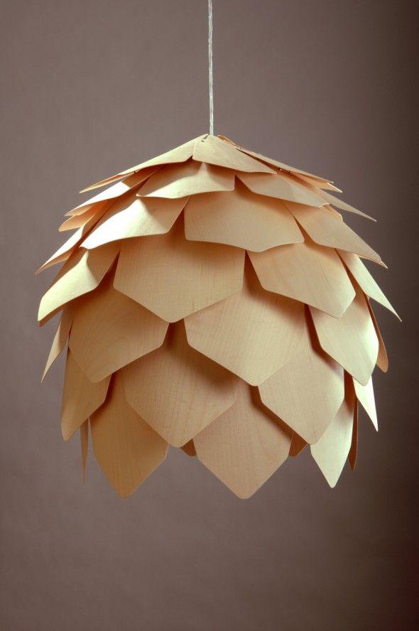 Crimean pinecone lamp 4